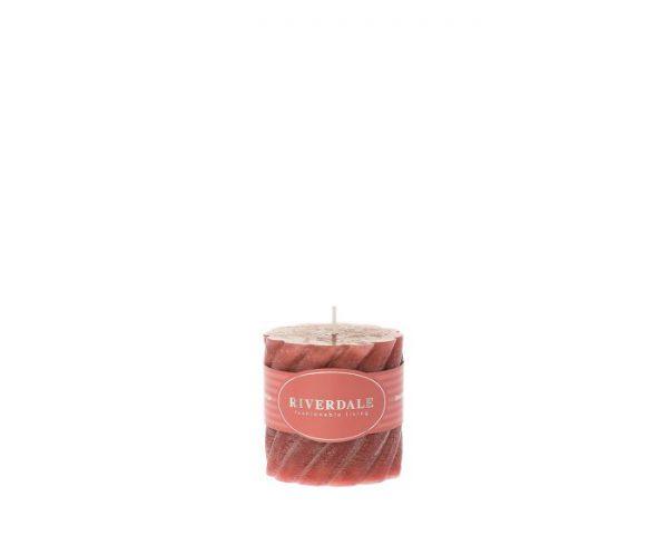 Candle swirl 7,5 x 7,5