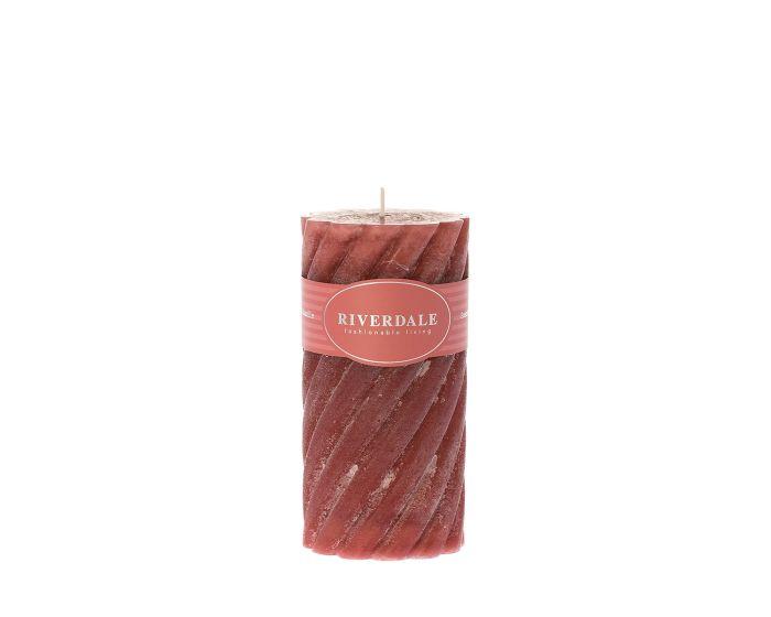 Candle swirl 7,5 x 15
