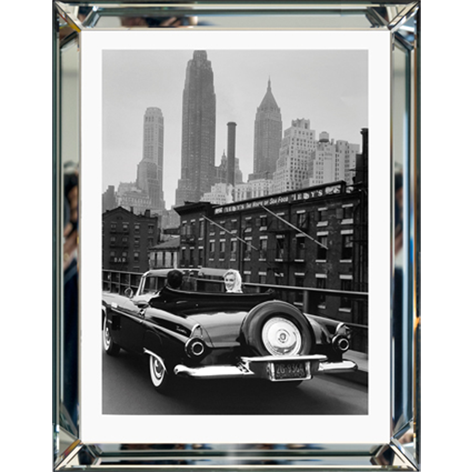 Monroe in new york in cabrio 70 x 90 cm