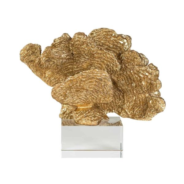 Faux Coral Aryan gold
