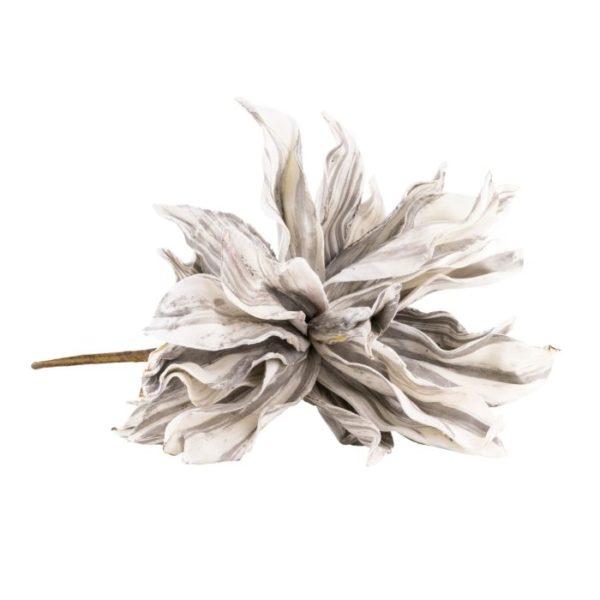 Flower Leya Grau