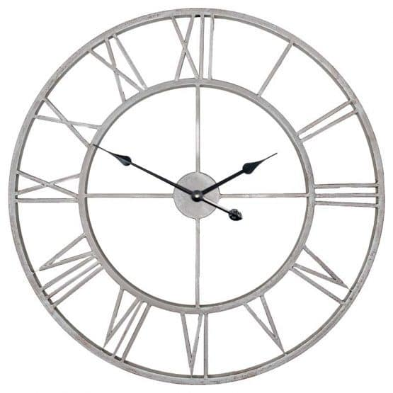 Clock Layla, Silver