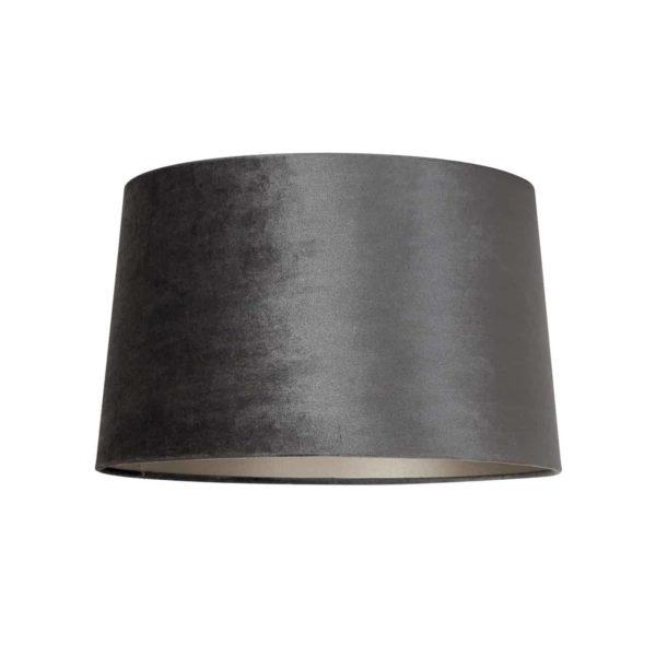 Lampshade Emily, velvet graphite Medium
