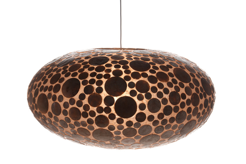 Coin gold - Hanglamp UFO M